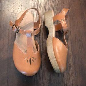 Girls healed sandals